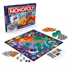 Monopoly Board, Monopoly Game, Best Birthday Gifts, 10th Birthday, Family Game Night, Family Games, Fun Board Games, Games To Play, Space Games