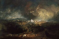 JMW Turner Poster - The Fifth Plague Of Egypt