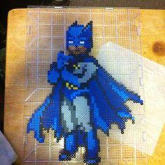 Batman Perler beads by babybunny3 on deviantART