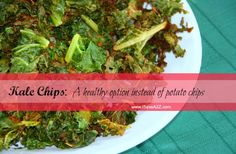 Homemade Kale Chips Recipe - iSaveA2Z.com