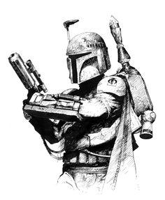 star wars boba fett logo - Buscar con Google
