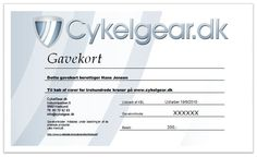 Gavekort Printer