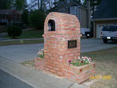 Milford Chase Brick Mailbox Standard - Marietta, Georgia 30008