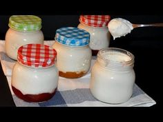 EASY Homemade Yogurt Recipe without a Yogurt Maker Easy Yogurt Recipe, Homemade Yogurt Recipes, Make Mozzarella Cheese, Easy Cheese, 4 Ingredient Cookies, Make Your Own Yogurt, Ice Cream Smoothie, Condensed Milk Recipes, Yogurt Ice Cream
