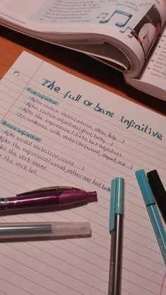 College Motivation, Study Motivation, Back To School, High School, Pretty Notes, Scrapbook Journal, School Office, Study Inspiration, School Notes