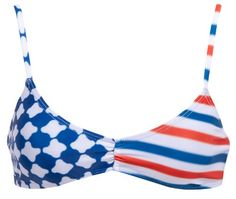 Old glory has nothing on the Beach Riot Spangled Bralette. This bikini top is the perfect mix of pa......Price - $67.00