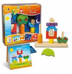 """Juego: Día y nocUn juego lleno de diversión, lógica, colores, formas y siluetas que evoluciona al mismo tiempo que crecen las habilidades del niño. Igual que la noche sigue al día, los retos de """"día"""" constituyen un gran punto de partida que, gradualmente, se va desarrollando, hasta llegar a los retos más avanzados de la """"noche"""". ¡48 retos y 4 niveles diferentes!"""