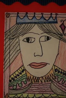 Royal Portraits inspired by playing cards!