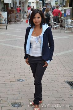 Sport Chic in  France Je t'adore....  For more check out our blog.  http://www.makeyourownfashion.com/search/label/Outfits