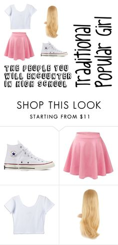 """Untitled #33"" by whatpandas on Polyvore featuring Converse"