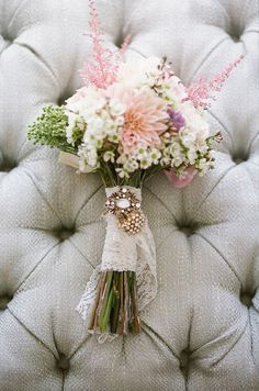 wedding bouquets examples blush pink wildflowers | ... -wedding-blog-its-all-in-the-details-favourite-bouquets-vintage-pink