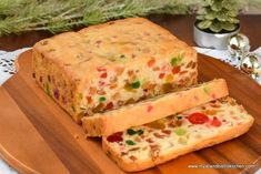 Gluten free light fruitcake studded with brandy-soaked glazed fruit baked within a batter made with gluten free flour, almond flour, and coconut flour. Gluten Free Flour, Gluten Free Baking, Coconut Flour, Almond Flour, Glazed Cherries, Oranges And Lemons, Cake Toppings, Baking Pans, Sweet Treats