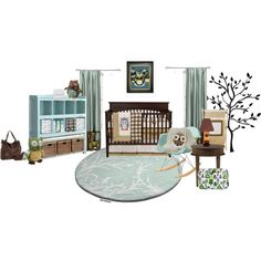 baby boys room, created by tanyaf1