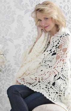 Häkelmuster für Lace-Decke
