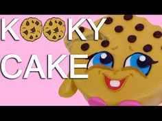 Easy Kooky Cookie Shopkins Character CAKE - How To With The Icing Artist - YouTube
