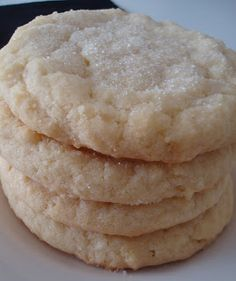 Pudding Sugar Cookies Recipe ~ Says: They are very soft and melt in your mouth. I have only used vanilla flavored pudding mix but you could experiment with other flavors too.