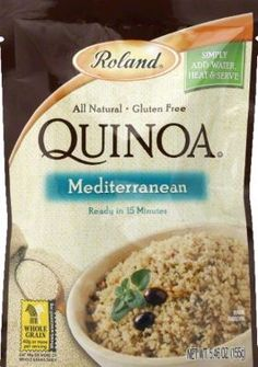 ROLAND - Quinoa, Mediterranean (Pack of 6)