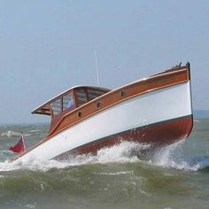 Top Five Reasons Yacht Charters in Bahamas Are Better Yacht Design, Boat Design, Old Boats, Small Boats, Classic Wooden Boats, Classic Boat, Classic Yachts, Motor Cruiser, Airplanes