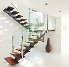 Open Riser Steel Beam U-shaped Wood Staircase With Glass Railing , Find Complete Details about Open Riser Steel Beam U-shaped Wood Staircase With Glass Railing,Straight Steel Staircase,Modern Steel Staircase,Open Riser Wood Staircase from -Shenzhen Prima Construction Materials Co., Ltd. Supplier or Manufacturer on Alibaba.com