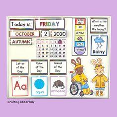 Home Learning, Preschool Learning, Craft Activities For Kids, Preschool Crafts, Preschool Ideas, Teaching, Calendar Time, Holiday Calendar, Free Printable Calendar