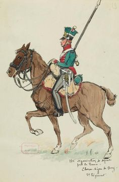 uploaded this image to 'Fort Ernest/Troupes du Gran Duche de Berg'. See the album on Photobucket. Empire, German Uniforms, Military Uniforms, Ernest, War Of 1812, Military Insignia, French Revolution, Napoleonic Wars, Troops