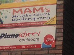 een kinderopvang en een school