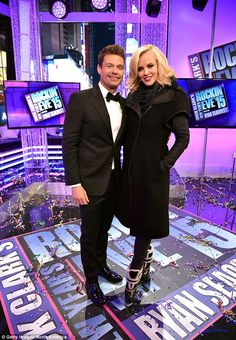 Big job: The star will join Ryan Seacrest to host the annual Dick Clark's New Year's Rockin' Eve in New York