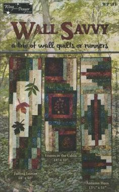 Wall Savvy – Quilting Books Patterns and Notions