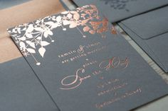 peach and gold save the date - Google Search