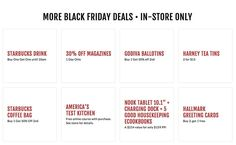 Barnes and Noble Black Friday 2018 Ads and Deals Browse the Barnes and Noble Black Friday 2018 ad scan and the complete product by product sales listing. 1 Day Only, Black Friday Ads, Starbucks Drinks, Good Housekeeping, Buy One Get One, Cool Kitchens, Coupons, Coupon