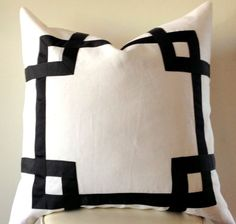 26 Round Floor Pillow Kess InHouse Jennifer Rizzo Modern Boho Dots and Dashes Black White Abstract