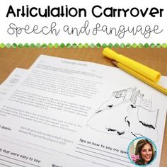 Middle School Articulation packet; Carryover articulation for speech and language therapy. This packet targets articulation and wh- question comprehension with a Scottish theme! I dinna ken about you, but I love having some no prep, print & go speech and language materials.
