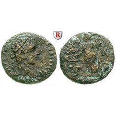 Römische Provinzialprägungen, Kilikien, Anazarbos, Elagabal, Trihemiassarion, s: Kilikien, Anazarbos. AE-Trihemiassarion 21 mm.… #coins