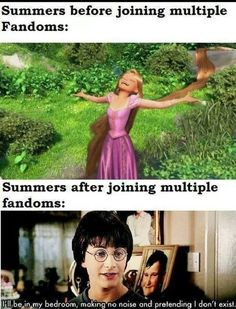 ABSOLUTELY TRUE I belong to 13 so I decided to HIBERNATE and watch every episode of dr who and super natural along with reread all the harry potter books. And many other fandom stuff Lmao I need help probably. Jorge Ben, Fangirl Problems, Nerd Girl Problems, Funny Memes, Jokes, Hilarious, Book Memes, Harry Potter Memes, Film Serie