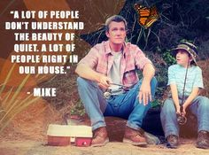 Mike Heck, the dad from The Middle best represents the stock character Pantalone because he doesn't seem like he cares that much for his family at time and he likes to hide things from them because he thinks it is none of their business Tv Quotes, Movie Quotes, Funny Quotes, Motivational Quotes, Tv Funny, Hilarious, Funny Movies, The Middle Tv Show, The Goldbergs