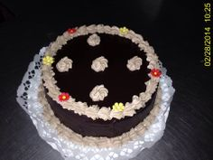 Chocolate cake / Csokoládé Torta / Hungary, Gyöngyös
