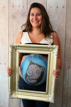 #bellypaint belly paint #me2you #buikschildering