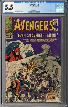 Now available: Avengers #14  CGC... #comics    http://coloradocomics.com/products/avengers-14-cgc-5-5?utm_campaign=social_autopilot&utm_source=pin&utm_medium=pin