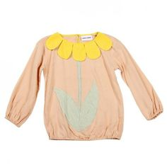 We love Mini Rodini's FLOWER Blouse!