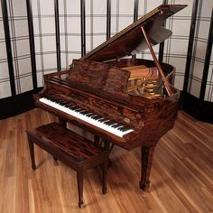 Much Beauty and Elegance in this Piano! http://pinterest.com/cameronpiano