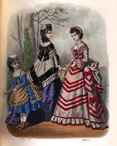 The London and Paris ladies' magazine of fashion 1871