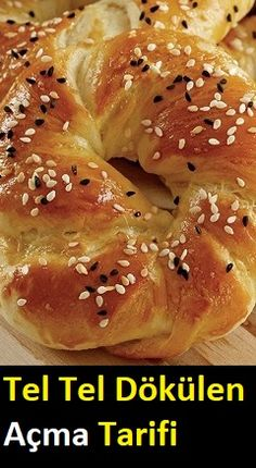 Pretzel Roll Recipe, Dinner Rolls Easy, Breakfast Recipes, Dessert Recipes, Tea Time Snacks, Food Platters, Middle Eastern Recipes, Turkish Recipes, Bread Baking