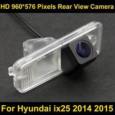 Buy PAL HD 960*576 Pixels high definition Car Parking Rear view Camera for Hyundai ix25 2014 2015 Car Waterproof Backup Camera .....Check Link