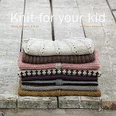 Knit for your kid. strik til børn år - Susie Haumann - Heftet - Bøker - CDON. Knitting For Kids, Crochet For Kids, Baby Knitting, Crochet Books, Crochet Yarn, Kids Patterns, Knitting Patterns, Knitting Ideas, How To Purl Knit