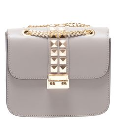 This Fango Stud Leather Shoulder Bag by Sofia Cardoni is perfect! #zulilyfinds