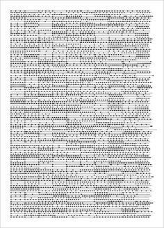 Carsten Nicholai, time..dot, 2000, notation font [implemented by olaf bender], dimension variable