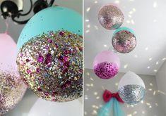 DIY globos decorados para cumpleanos infantil