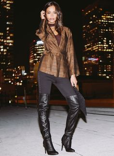 Next Shoes, Women's Shoes, Stiletto Boots, Dress For Success, Thigh High Boots, Ladies Dress Design, Thigh Highs, Celebrity Style, Autumn Fashion