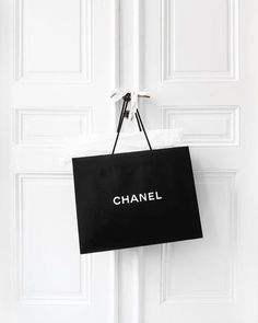 black chanel shopping bag on french doors. black chanel shopping bag on french doors. Classy Aesthetic, Boujee Aesthetic, Aesthetic Collage, Aesthetic Vintage, Aesthetic Photo, Aesthetic Pictures, Black And White Picture Wall, Black N White, Black And White Pictures