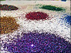 How to Make Homemade, Edible Glitter